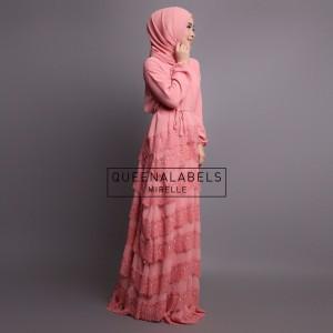 model baju muslim wanita online modern terbaru trendy Mirella by Queenalabels