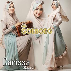 model baju gamis busana muslim modern terbaru 2015 carissa by goeboeg