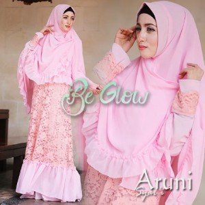 model baju busana gaun muslim modern trendy online indonesia Aruni by be Glow