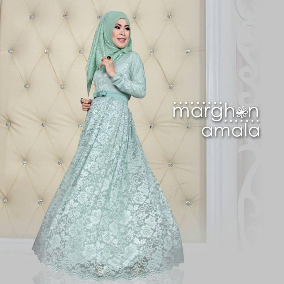 Baju Busana Muslim Modern Terbaru Trendy Margon Amala