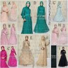 Model baju busana muslim modern terbaru trendy dan murah margon amala
