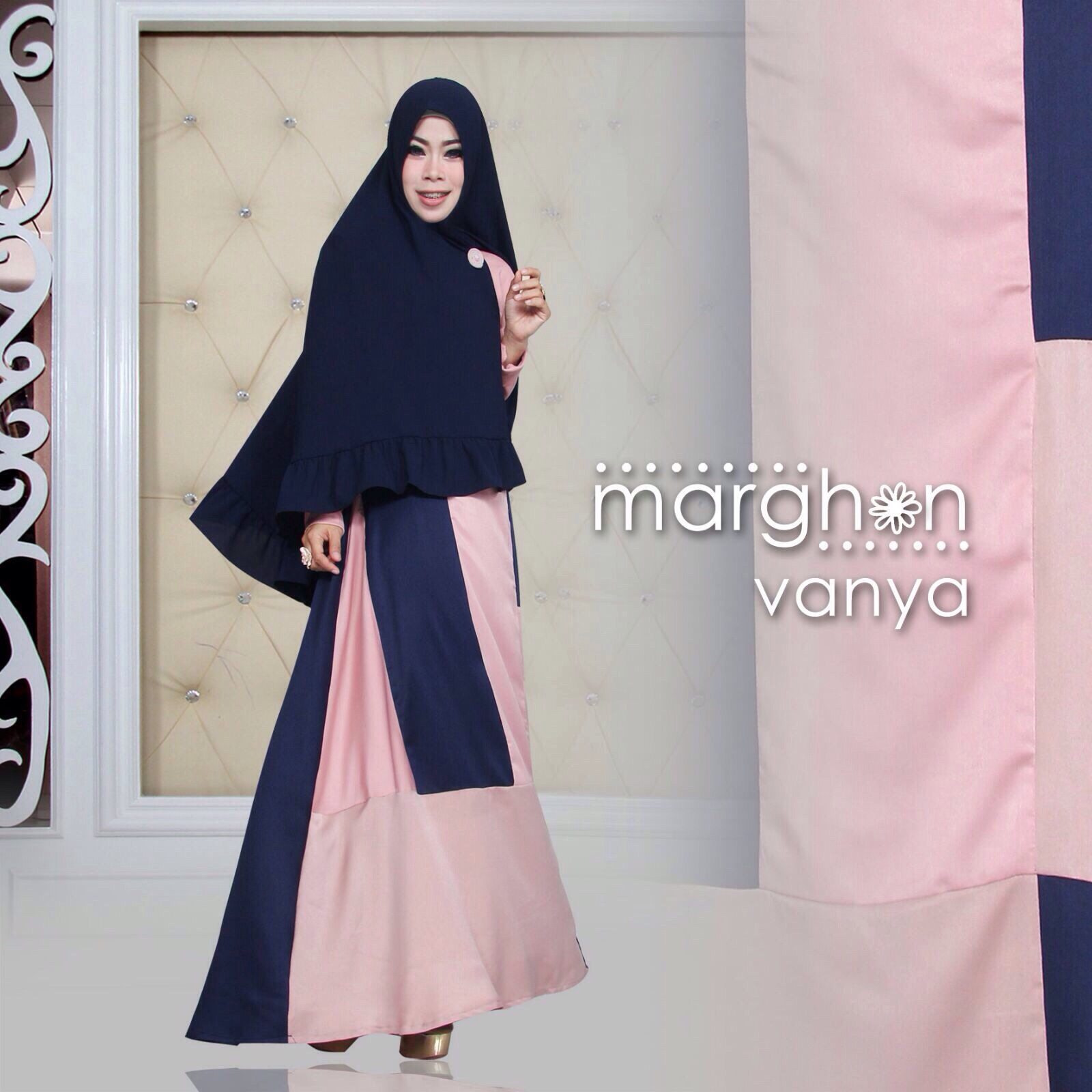 Model Gamis Kombinasi 2015 Gamis Syar I Muslim Pesta