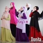 Baju busana pesta muslimah syar'i modern terbaru murah donita from koys