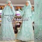 Distributor baju busan muslim modern syar'i 2015 nazema syari by farghani