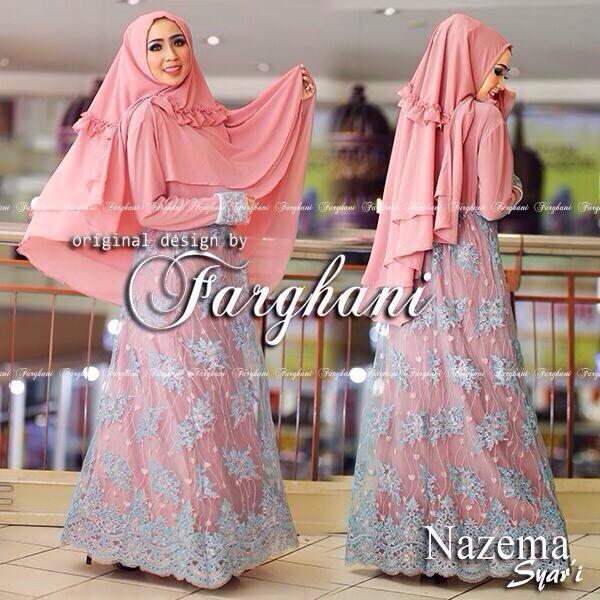 Busana Muslim Modern Syar 39 I 2015 Nazema Syari By Farghani