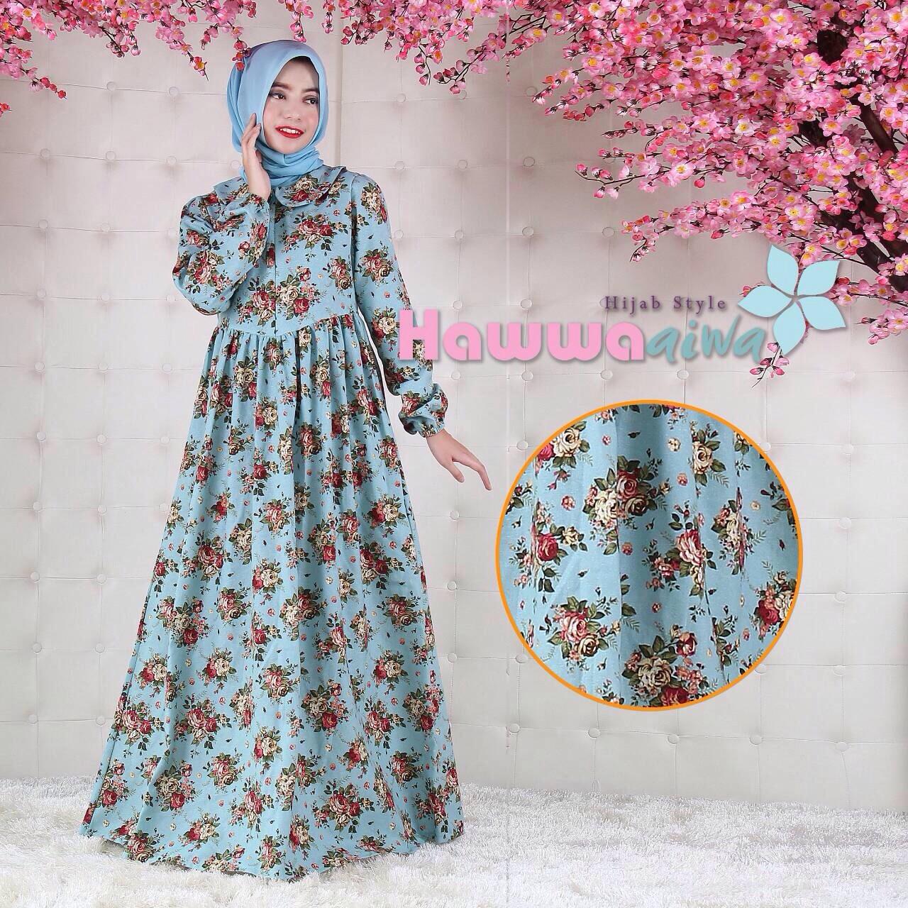 Baju Batik Tanah Abang Murah: Baju Busana Batik Muslim Tanah Abang Quentin By Hawwa Aiwa