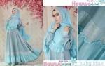 jual baju gamis terbaru modern 2015 online aesha syar'i by hawwa aiwa