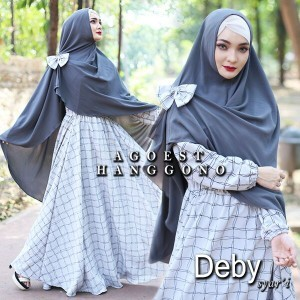grosir baju busana muslim online berkualitas murah thamrin city deby syari dari agoest hanggono