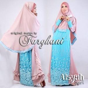 baju busana muslim syari modern terbaru murah tahun 2015 thamrin city aisyah dari farghani