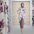 baju kerja muslim modis terbaru modern murah maltha dari marghon
