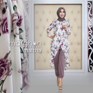 baju kerja muslim modis terbaru modern murah thamrin city maltha dari marghon