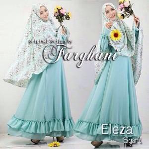Baju muslim gamis syari terbaru 2015 eleza 4 dari farghani Baju gamis terbaru di bandung