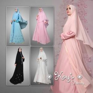baju muslim syari trendy terbaru modern murah online daisy by koys