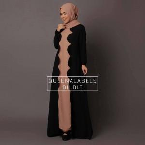 jual baju gamis modern terbaru 2015 new bilbie by queenalabels