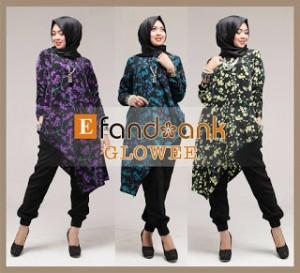 baju kerja model batik muslim modern glowee by efandoank