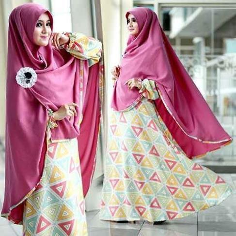 Grosir Baju Muslim Model Gamis Dan Hijab Syar I Laudia Syar I Toko