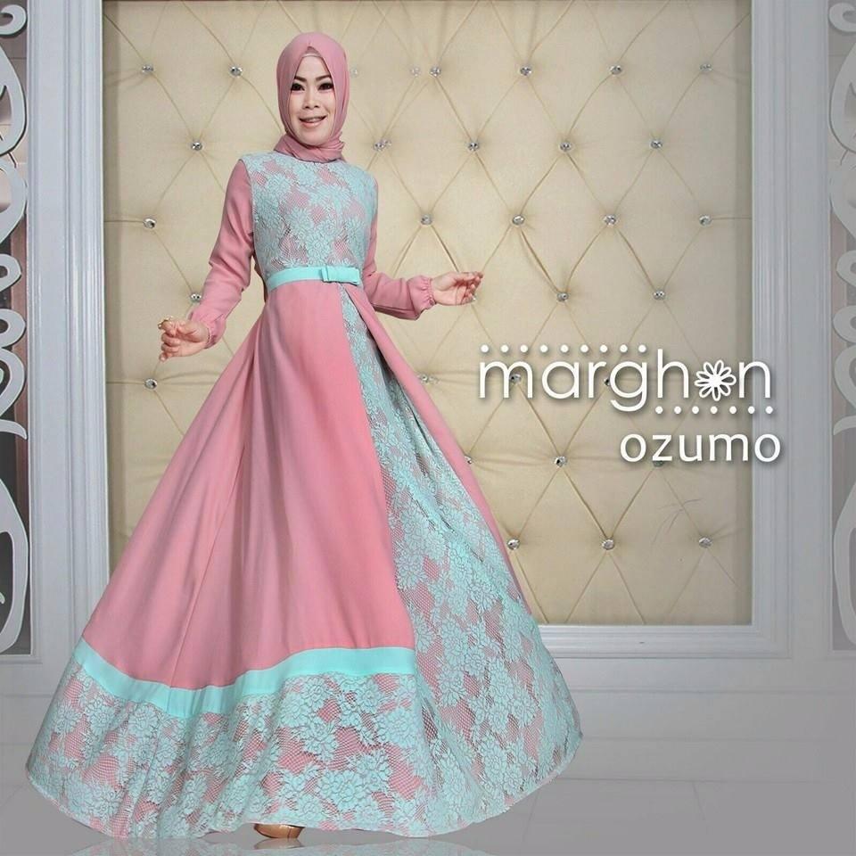 Baju Busana Muslim Brokat Model Syar 39 I Ozumo By Marghon