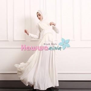 jual gaun model gamis pesta muslim brokat terbaru lubella vol 2 by hawwa aiwa
