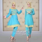 jual gaun muslimah modern terbaru untuk pesta trendy eifel marghon