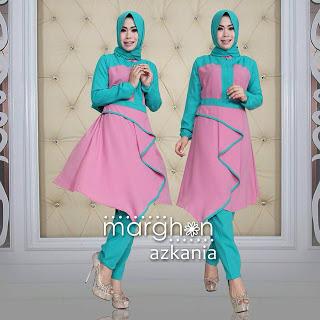 model baju gaun muslimah terbaru 2016 azkania set by marghon  4af54dc36a
