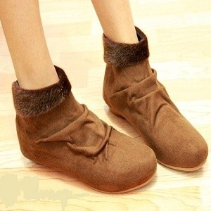sepatu boots wanita online shop warna abu-abu coklat dan hitam