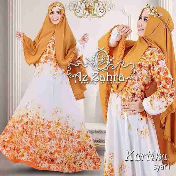 Baju Gamis Dan Hijab Syar 39 I Modern Terbaru Kartika Azzahra