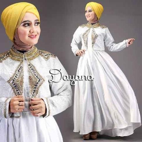 Baju Model Blazer Wanita Terbaru Dayana Gamis Buntung