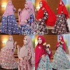 baju muslim wanita terbaru modern model gamis melinda syar'i by azzahra