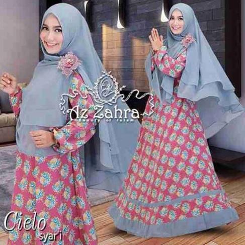 Baju Busana Muslim Hijab Model Gamis Syar 39 I Cielo Azzahra