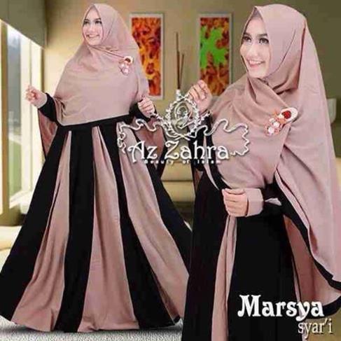 Model Baju Muslim Gamis Syar 39 I Untuk Lebaran Terbaru Saat