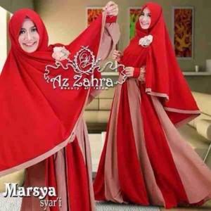 jual baju gamis syar'i modern murah terbaru 2016 marsya by azzahra