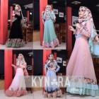 Jual busana muslim wanita masa kini modern Allura Set syar'i vol 3 by Kynara