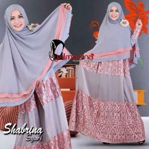 Jual Gaun Pesta Muslim Mewah Dan Elegan Model Gamis Modern Shabrina