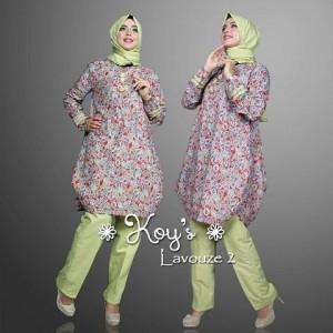 model baju kerja wanita muslim modern terbaru Lavouze 2 set by koys