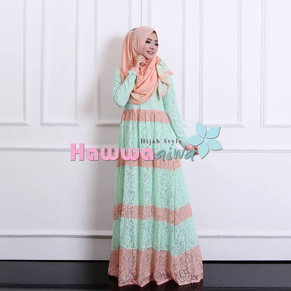 Baju Muslim Modern Model Gamis Cantik 2016 Contoh Gambar