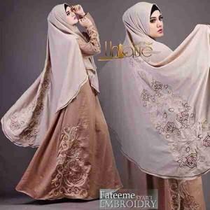 jual baju gamis dan hijab syar'i terbaru fateeme unique