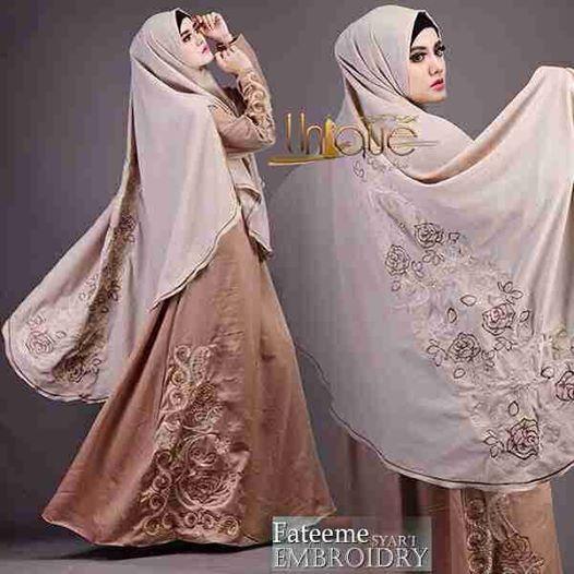 Jual Baju Gamis Dan Hijab Syar I Terbaru Fateeme Unique Toko