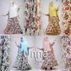 jual busana muslim model gamis modern terbaru 2016 Unna Akhwat