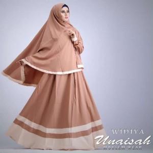 Baju gamis syar'i terbaru Widya dan Aditya Syari by Unaisah