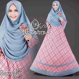 Busana muslim model gamis terbaru modern Falmboyan syari vol 2