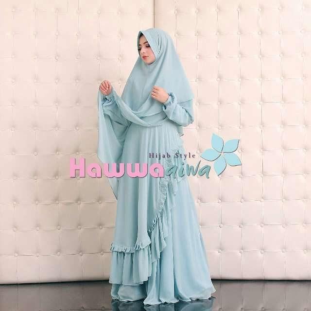 Grosir Baju Gamis Syar 39 I Terbaru Khadeeja Hawwa Aiwa