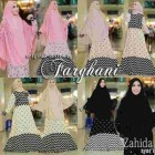 Baju gamis syar'i murah Zahida Farghani