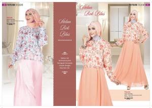 Baju busana Muslim terbaru modern setelan rok dan blouse