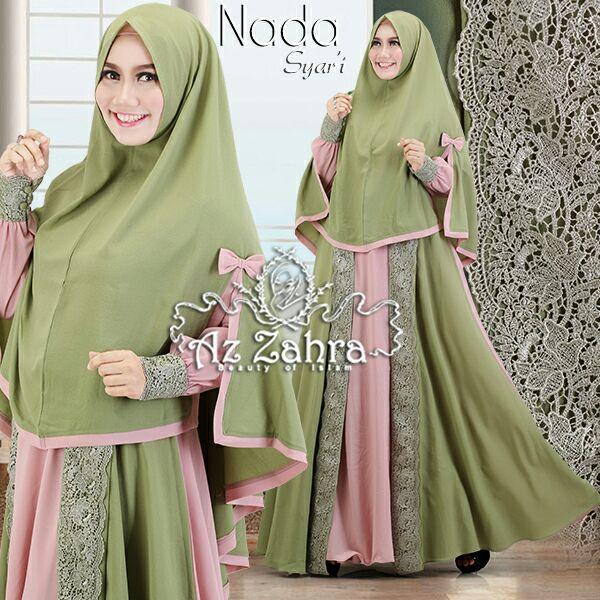 Baju Gamis Muslim Syari Modern Murah Gamis Pesta Modern