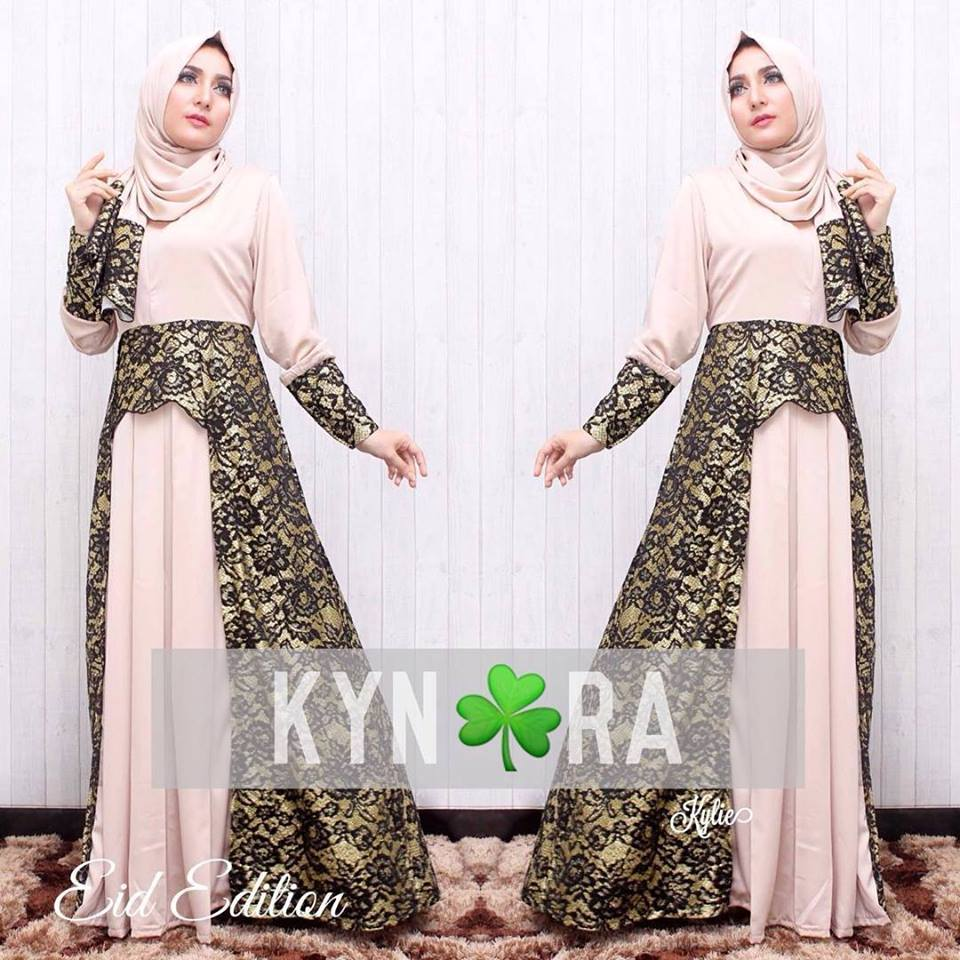 Baju Gamis Modern On Pinterest Brokat Muslim And Modern