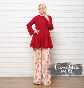 Baju Muslim Modern Maika by Queenalabels