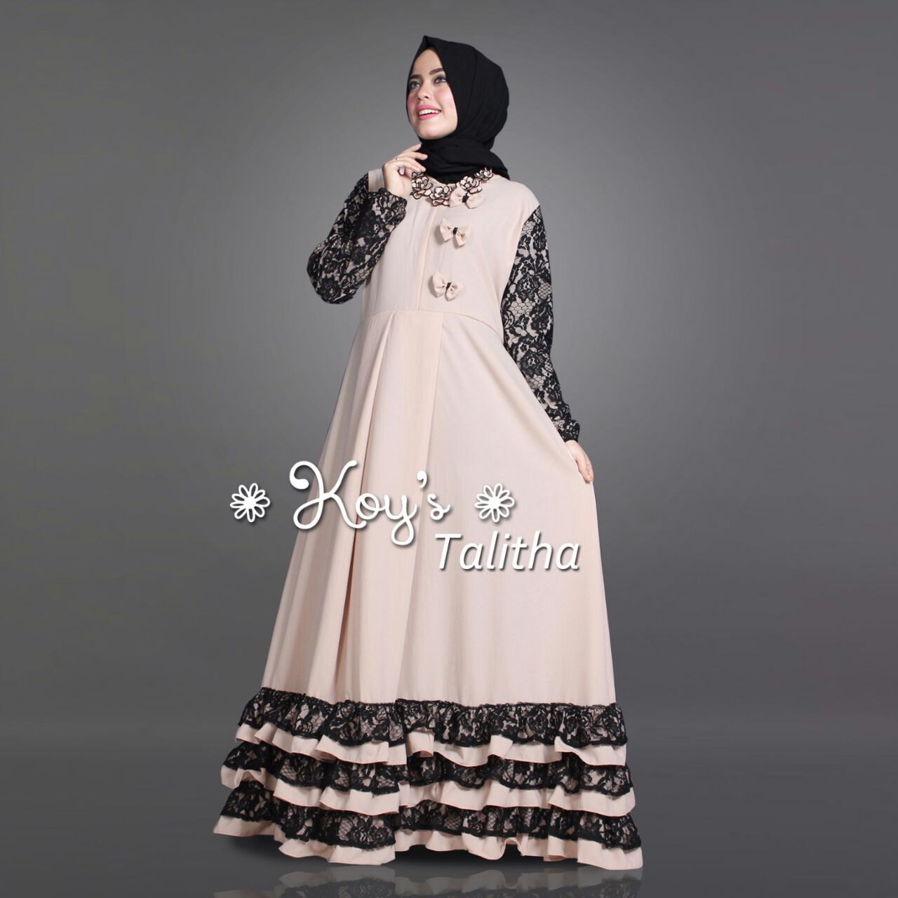 Jual Baju Busana Muslim Couple Talitha Mom And Kids Koys
