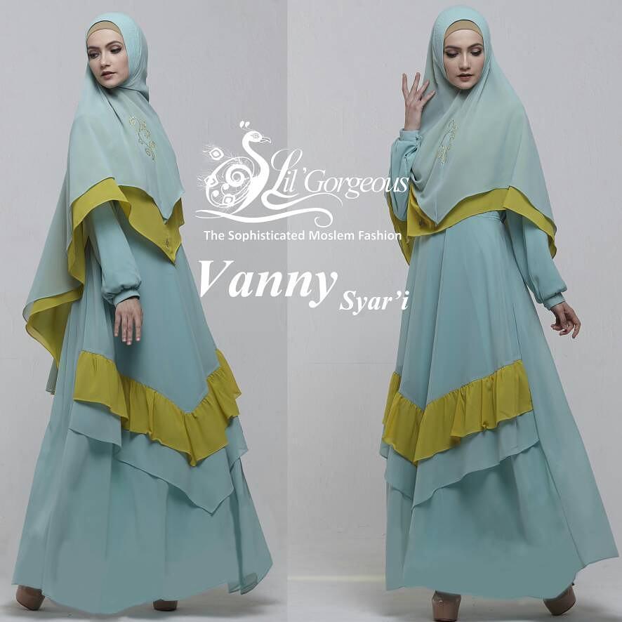 Model baju gamis terbaru vanny syar 39 i by lil gorgeous Baju gamis terbaru di matahari