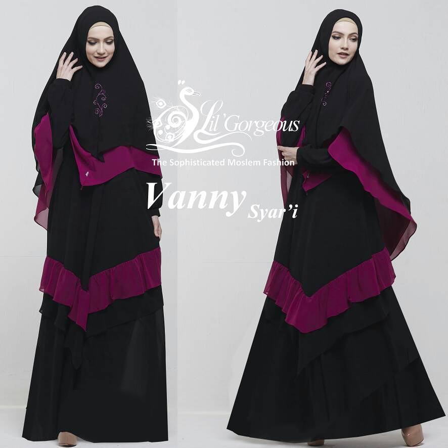 Model Baju Gamis Terbaru Vanny Syar 39 I By Lil Gorgeous