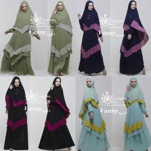 Model Baju Gamis Terbaru Vanny Syar'i by Lil Gorgeous